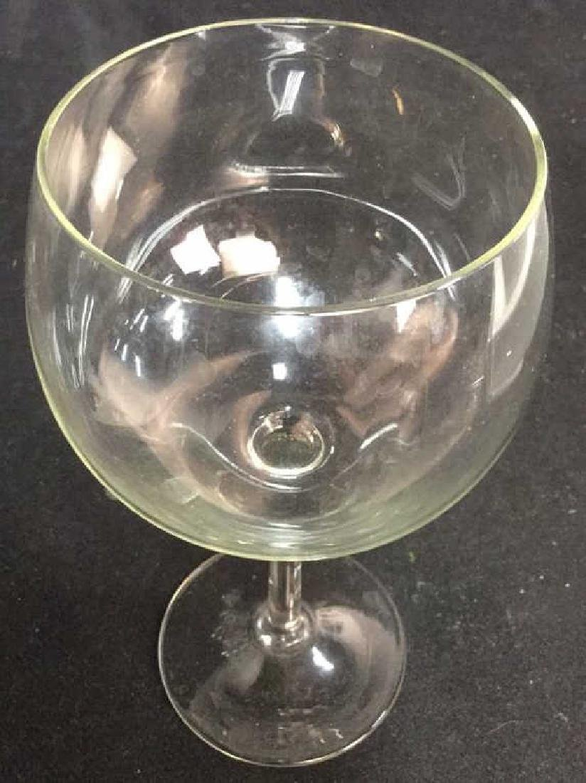 Lot 23 Assorted Glass & Crystal Wine Glasses - 6