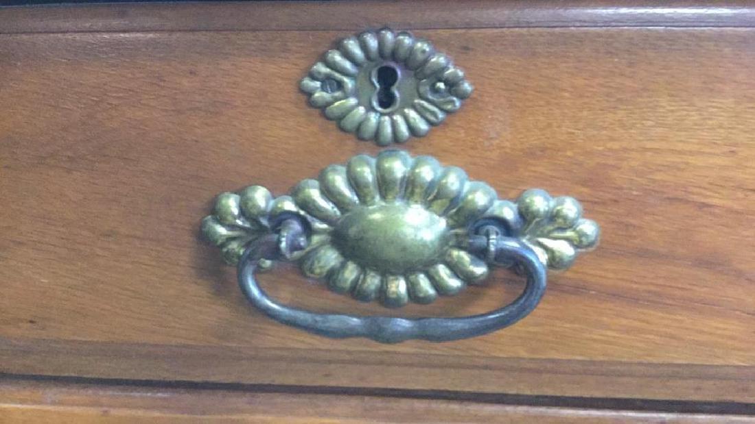 Vintage Solid Wooden 4 Drawer Dresser - 2