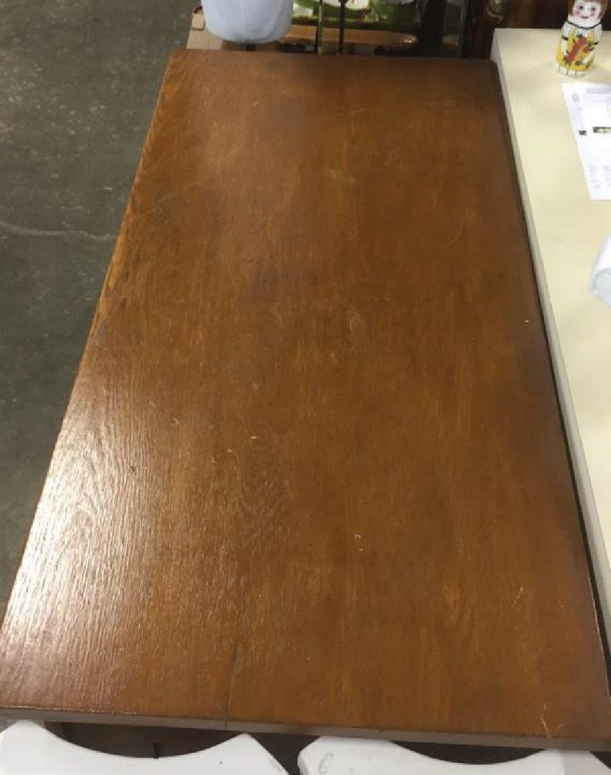 Vintage Solid Wooden 4 Drawer Dresser - 4