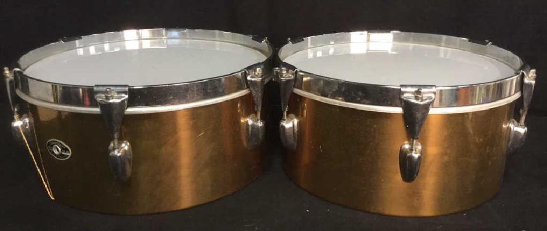 Pair SLINGERLAND Drums Musical Instruments