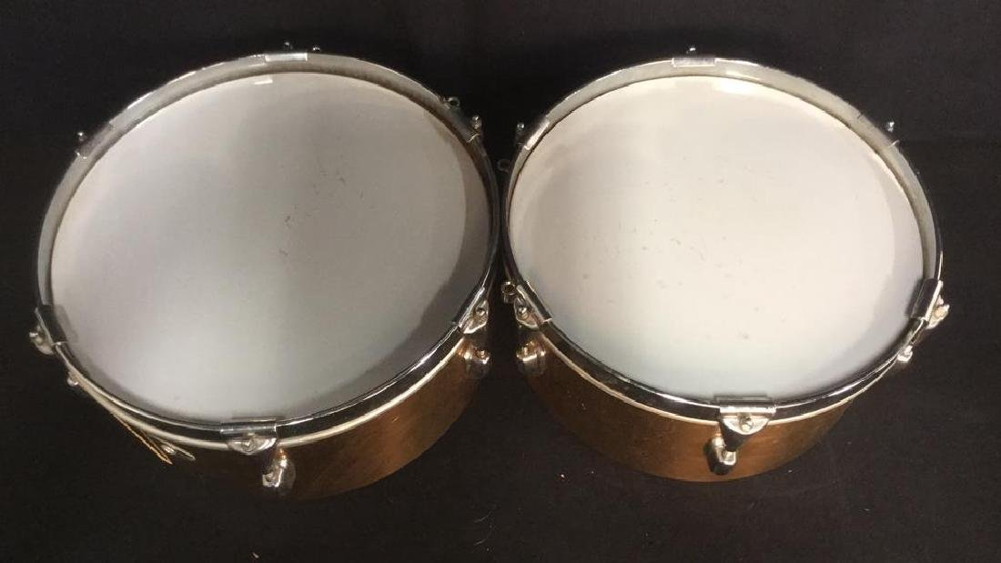 Pair SLINGERLAND Drums Musical Instruments - 4