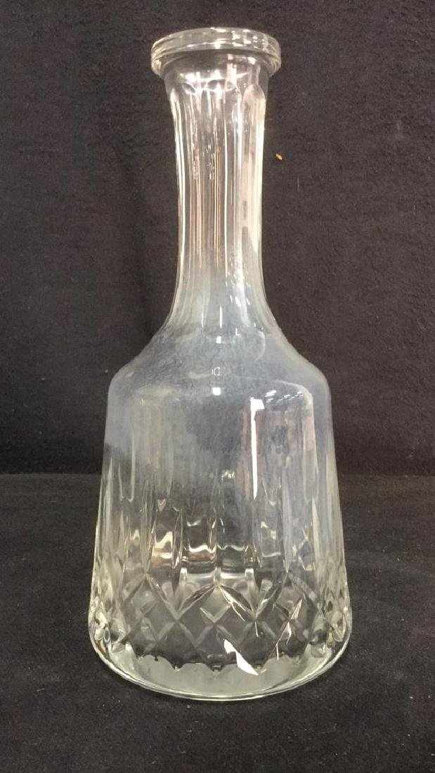 Glass Crystal Decanter W Stopper - 5