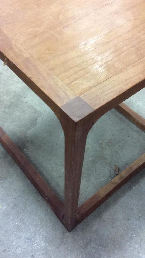 Lot 3 Wooden Nesting Side Tables Various Sized - 4