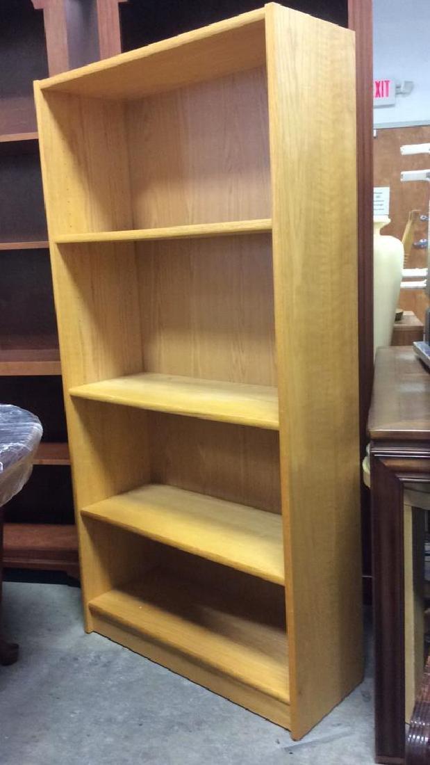 3 Shelf Wooden Book Shelf
