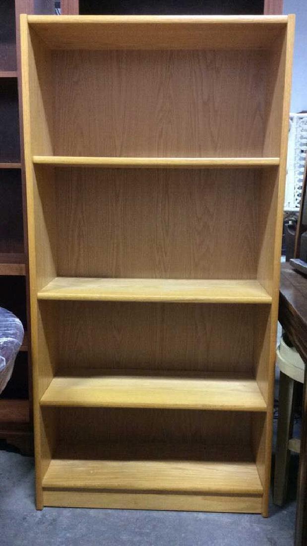 3 Shelf Wooden Book Shelf - 2