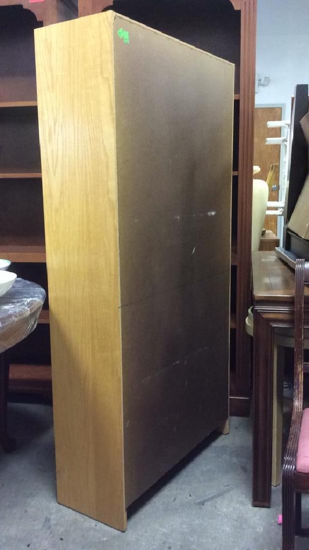 3 Shelf Wooden Book Shelf - 4
