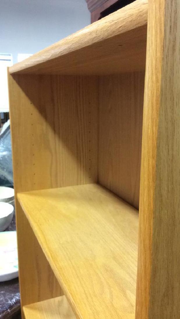 3 Shelf Wooden Book Shelf - 5