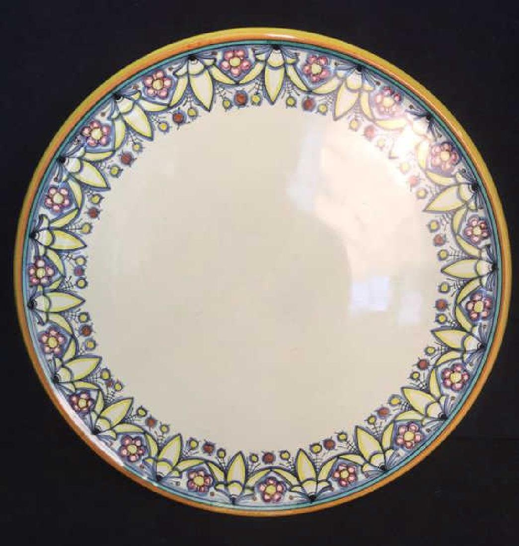 Italian Hand Painted Ceramic Platter