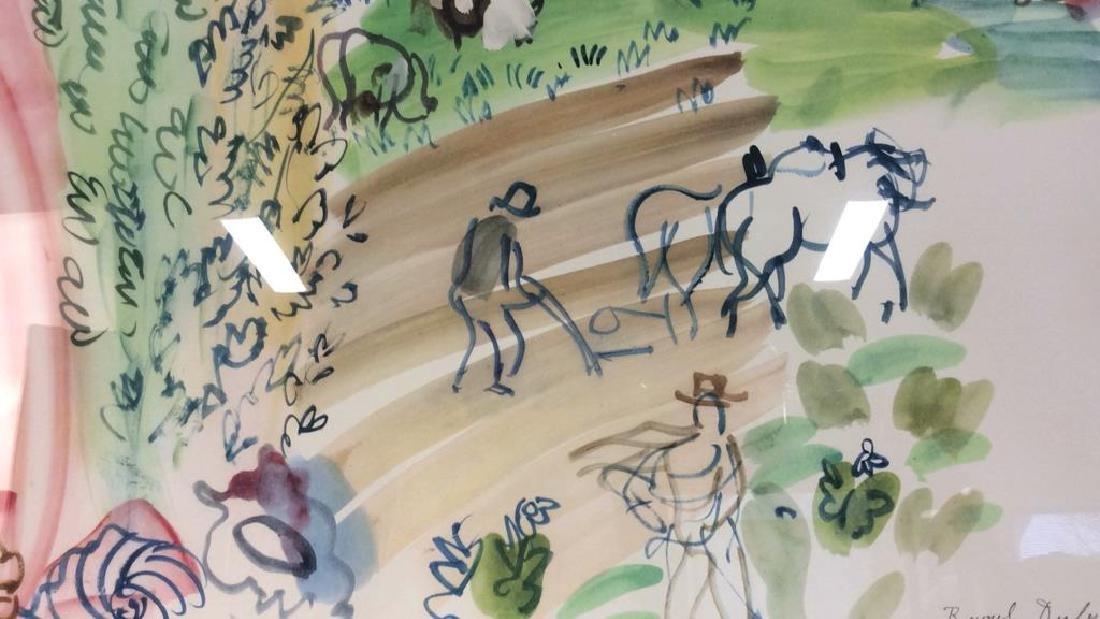 Raoul Dufy Art Print The Village Garden - 2