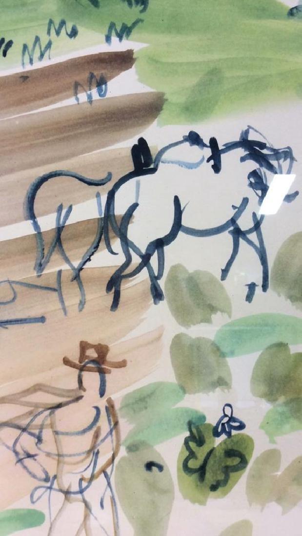 Raoul Dufy Art Print The Village Garden - 3
