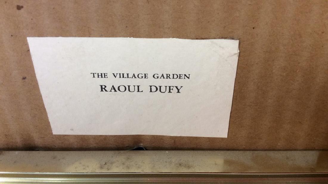 Raoul Dufy Art Print The Village Garden - 9
