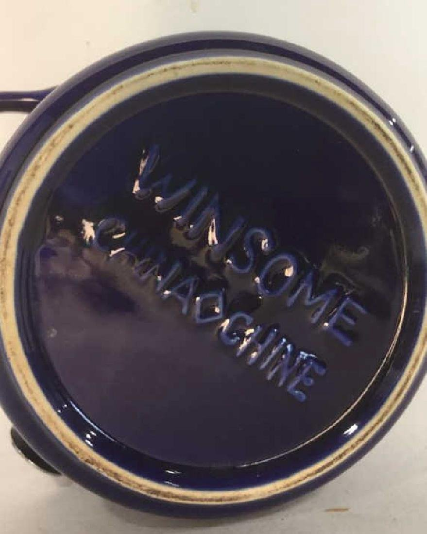 Lot 3 Royal Blue WINSOME Spice Jars - 4