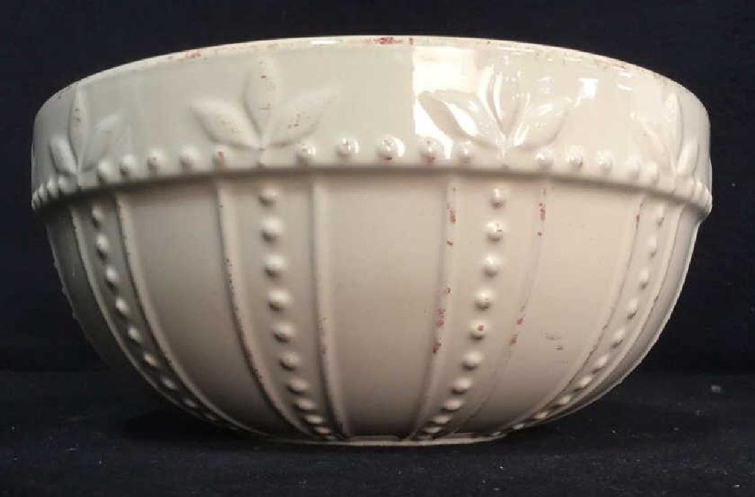 SORRENTO Cream Toned Ceramic Bowls - 3