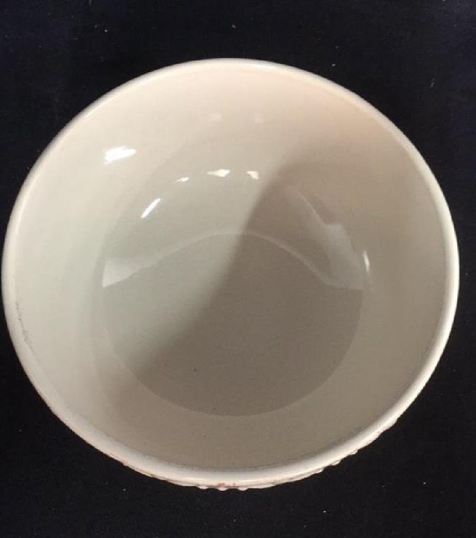 SORRENTO Cream Toned Ceramic Bowls - 4