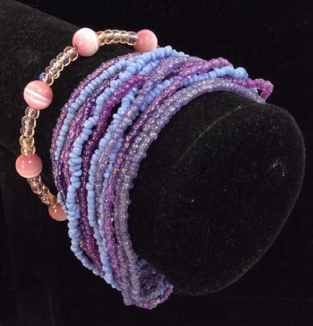 Lot 2 Beaded Bracelets - 2