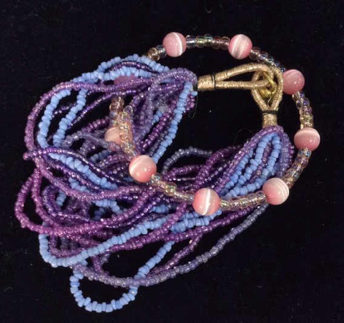 Lot 2 Beaded Bracelets - 4