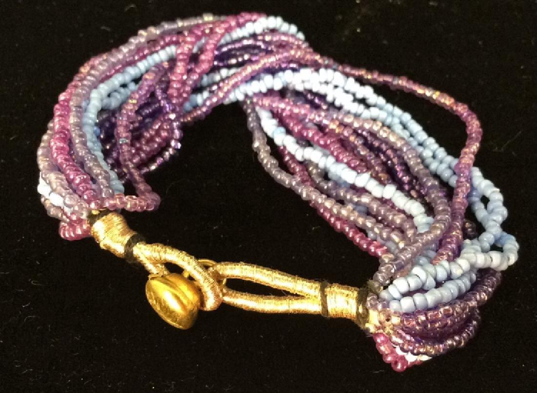 Lot 2 Beaded Bracelets - 5