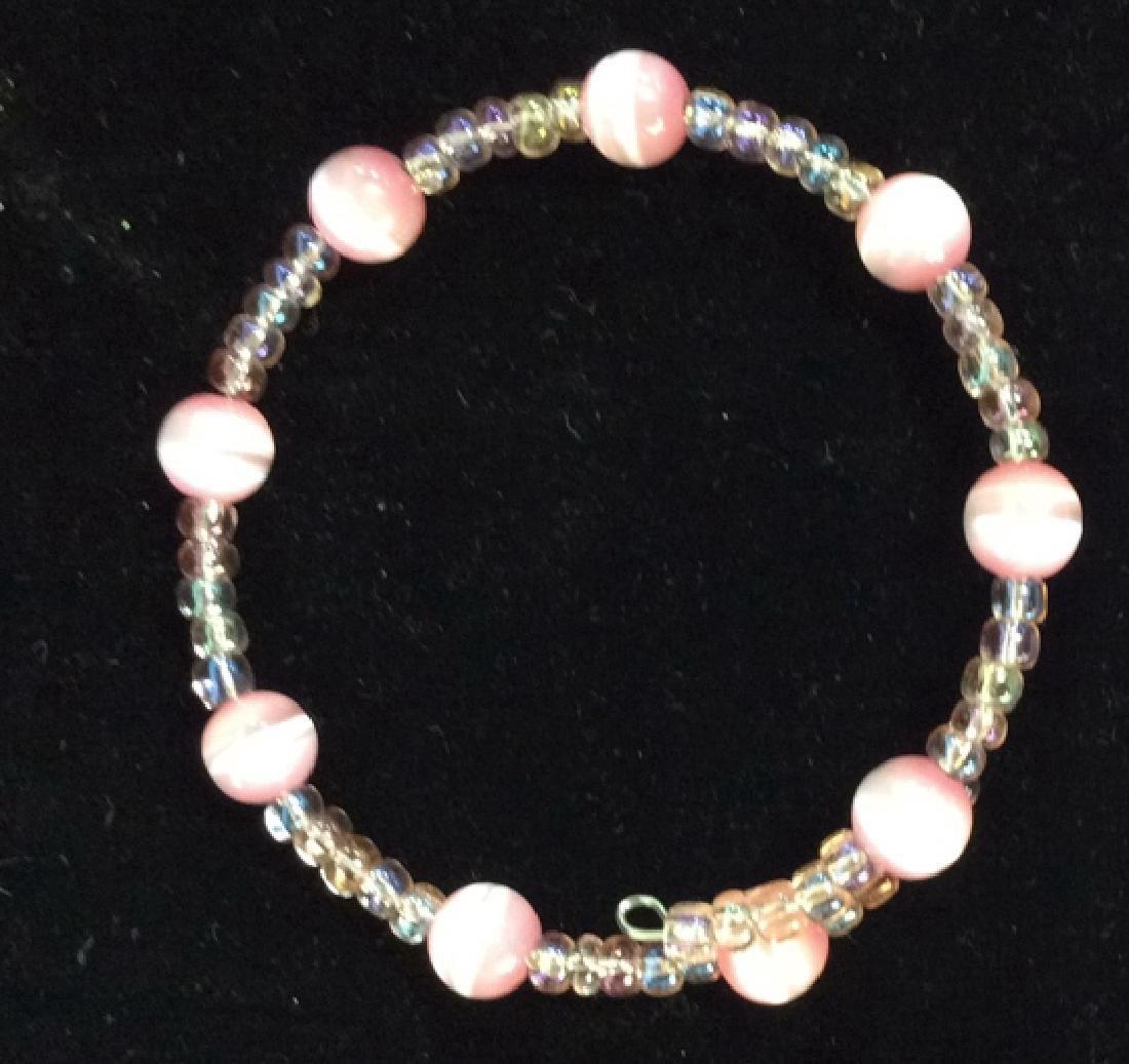 Lot 2 Beaded Bracelets - 6