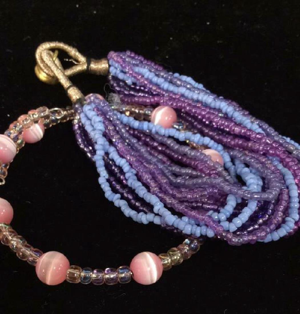 Lot 2 Beaded Bracelets - 7