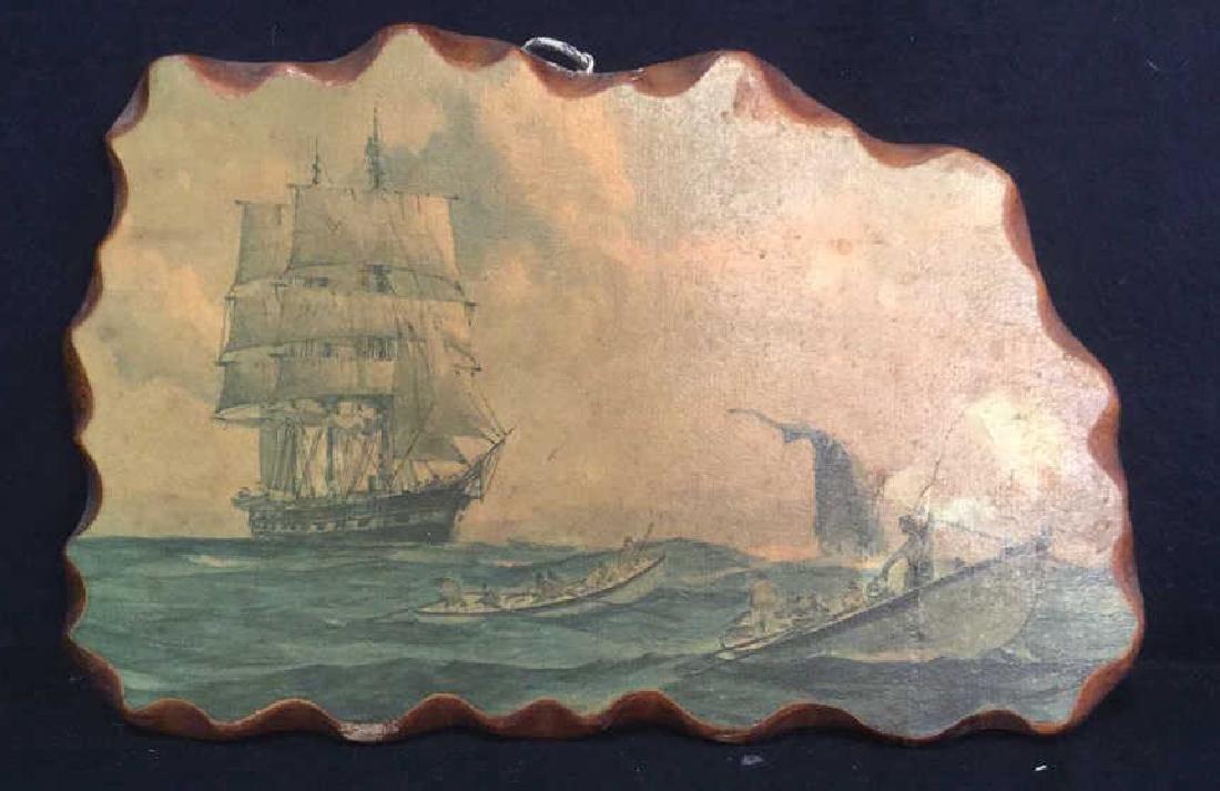 Nautical Painting On Wood