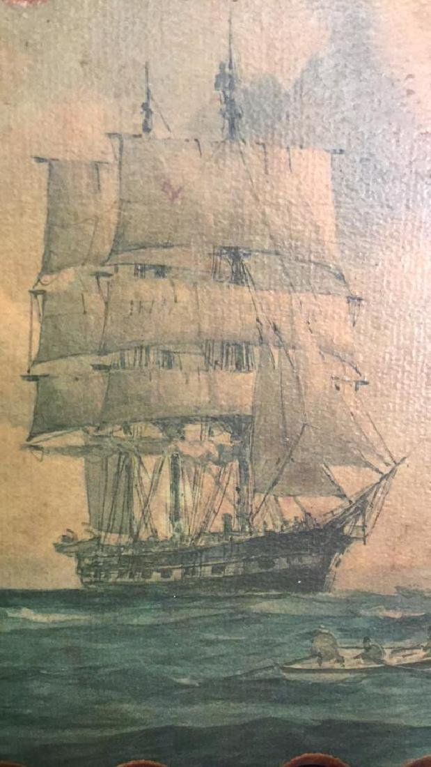 Nautical Painting On Wood - 2