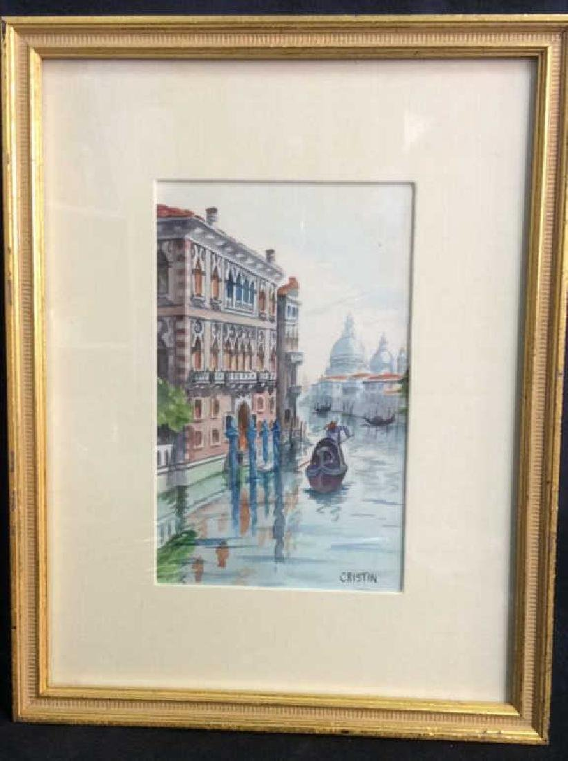 Watercolor Painting By Cristin Of Venice Italy - 2