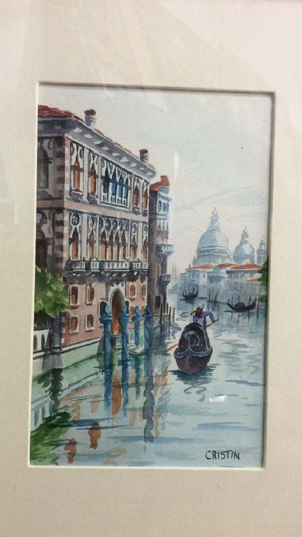 Watercolor Painting By Cristin Of Venice Italy - 3