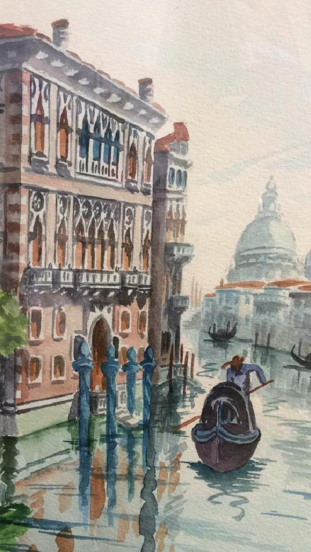 Watercolor Painting By Cristin Of Venice Italy - 4