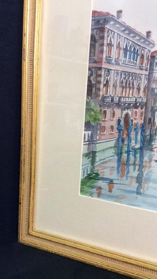 Watercolor Painting By Cristin Of Venice Italy - 5
