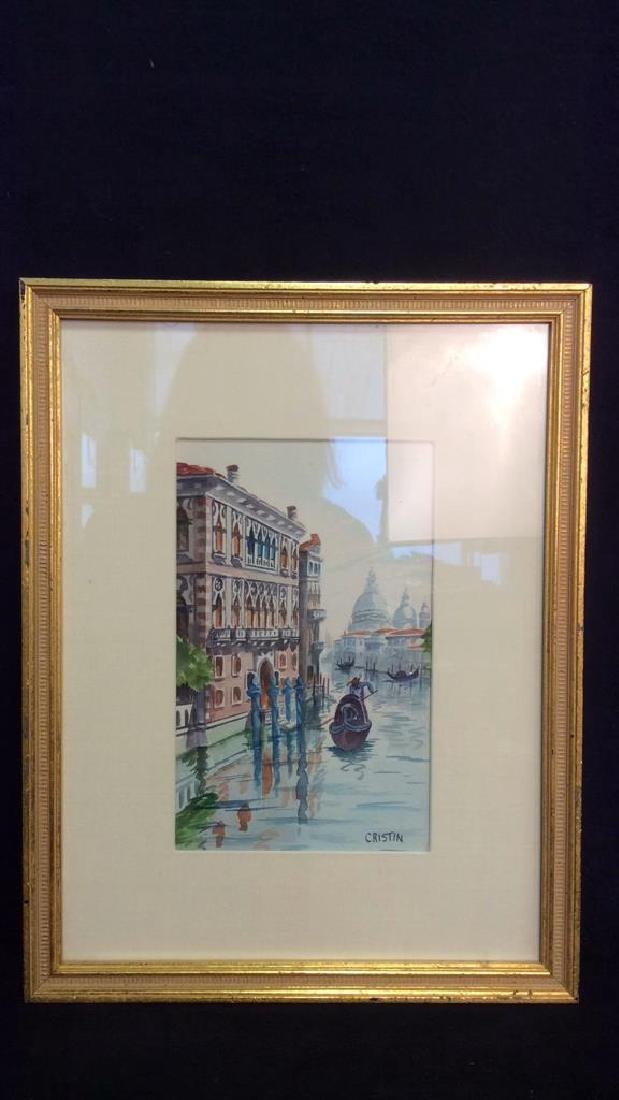 Watercolor Painting By Cristin Of Venice Italy - 8
