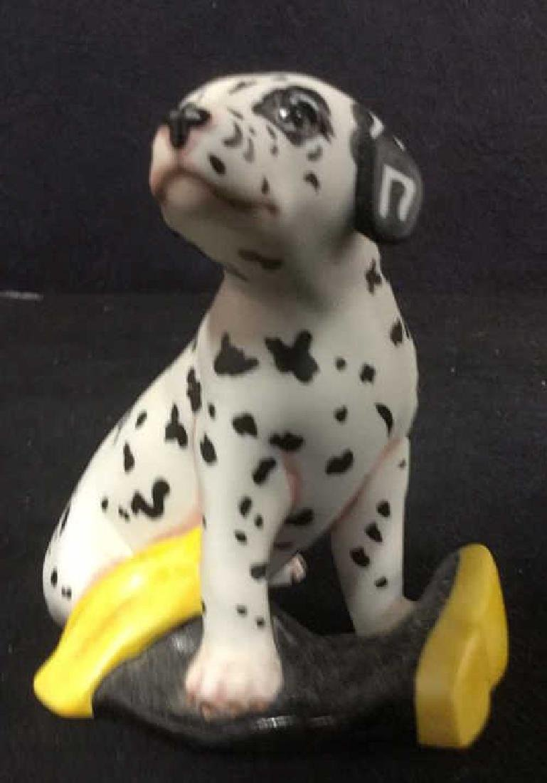 Lot 8 Assorted Dog Figurines - 6