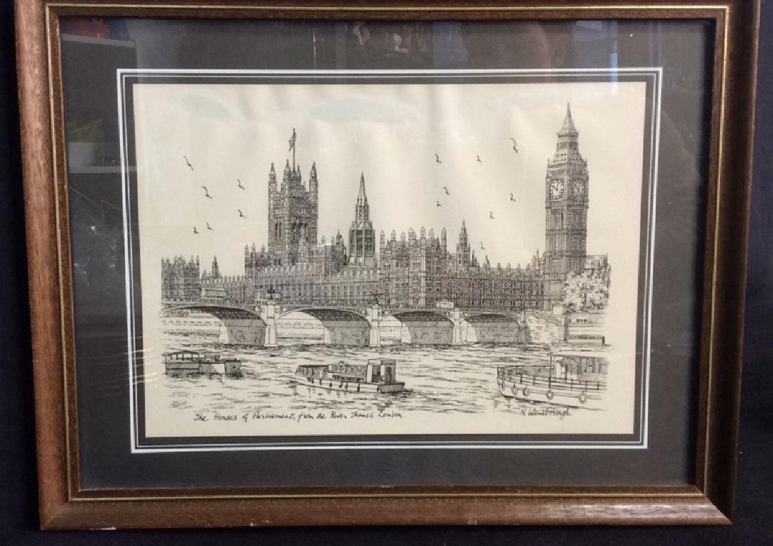The Houses Of Parliament Art Print