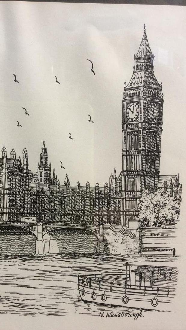 The Houses Of Parliament Art Print - 3