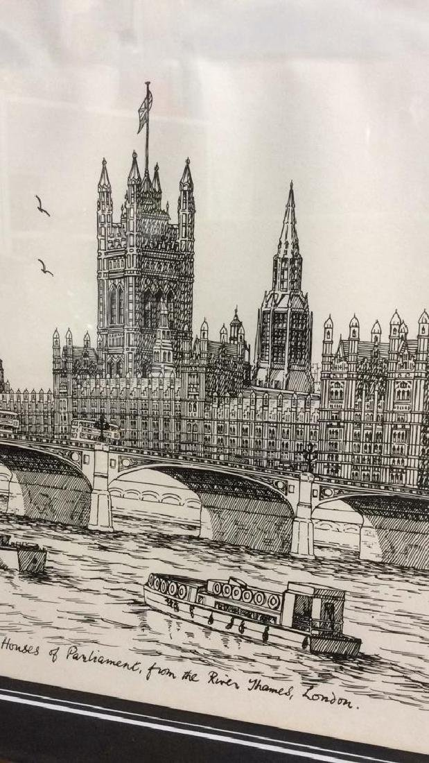 The Houses Of Parliament Art Print - 5