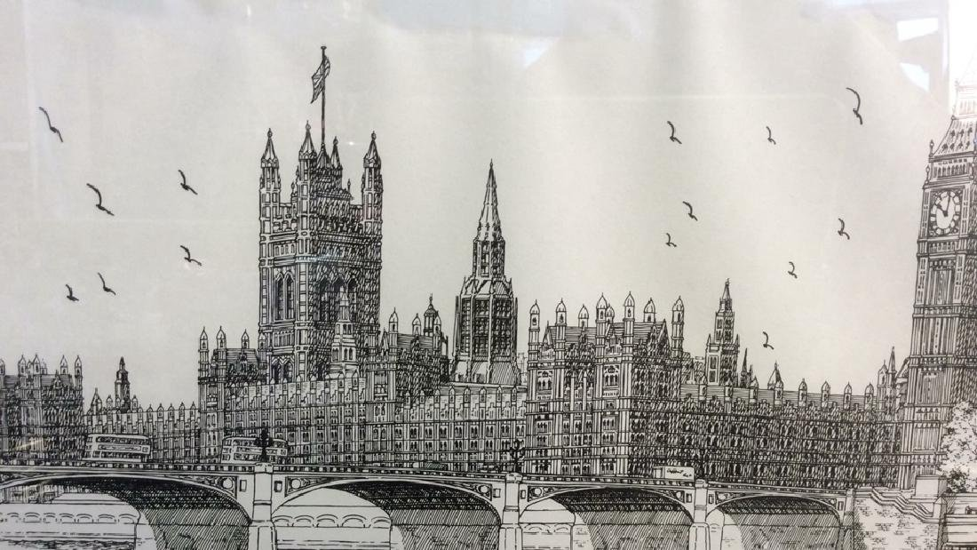 The Houses Of Parliament Art Print - 8
