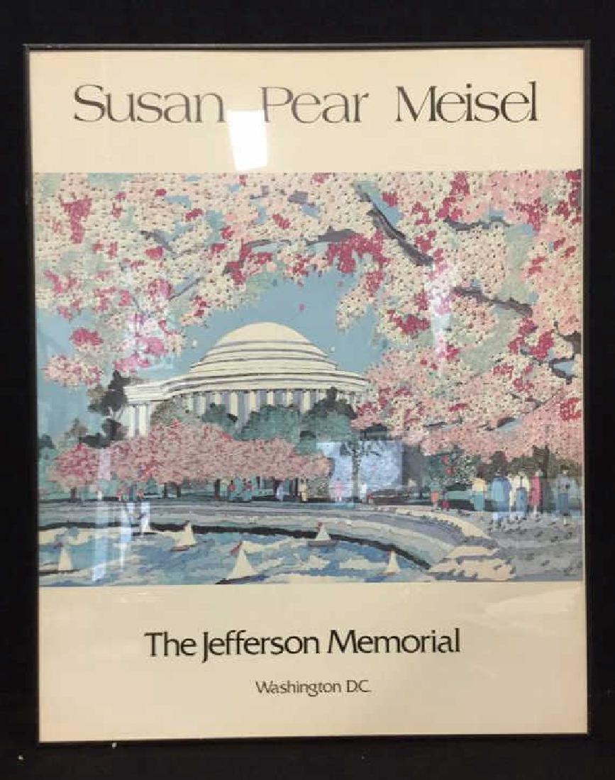 SUSAN PEAR MEISEL THE JEFFERSON MEMORIAL Poster