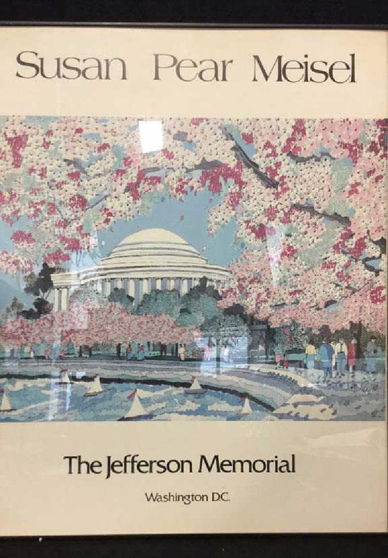 SUSAN PEAR MEISEL THE JEFFERSON MEMORIAL Poster - 2