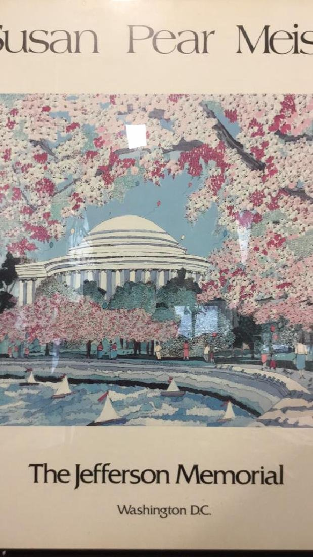 SUSAN PEAR MEISEL THE JEFFERSON MEMORIAL Poster - 3