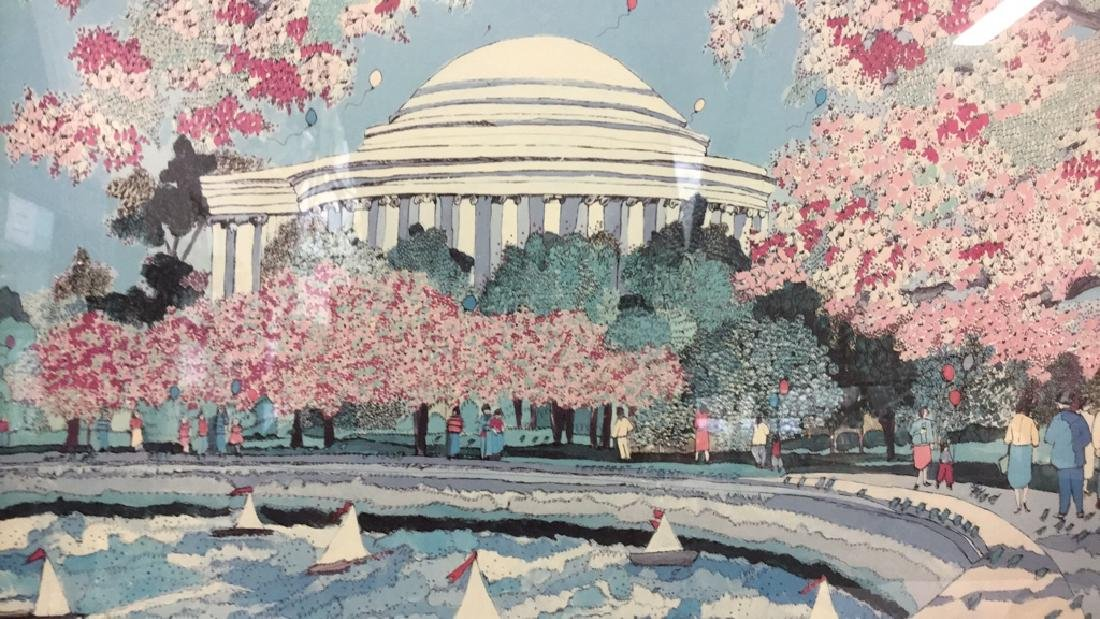 SUSAN PEAR MEISEL THE JEFFERSON MEMORIAL Poster - 9