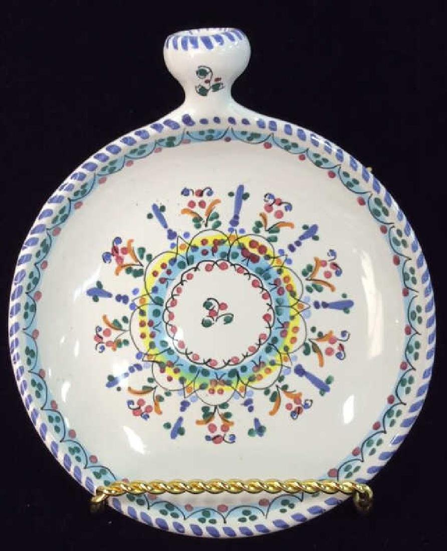 Pair Decorative Painted  Display Plate - 2