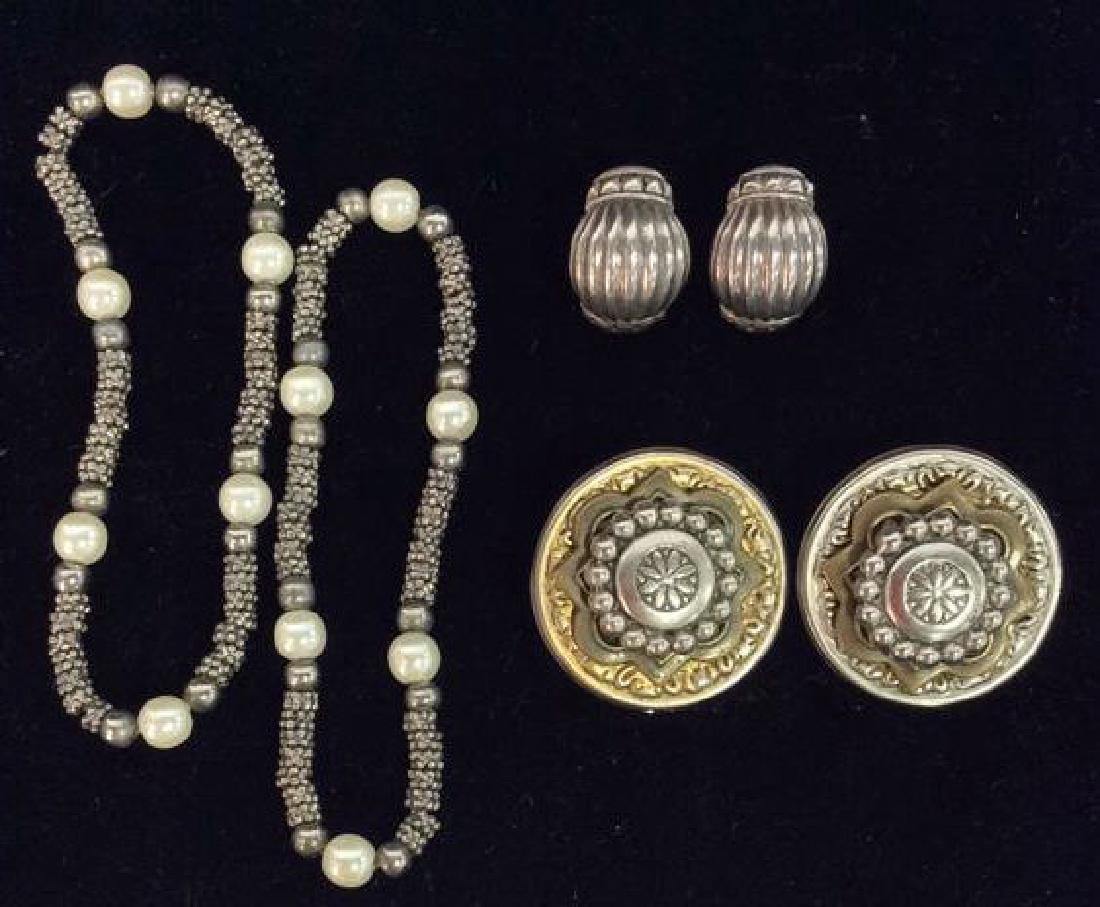 Lot 4 Women's Vintage Estate Jewelry
