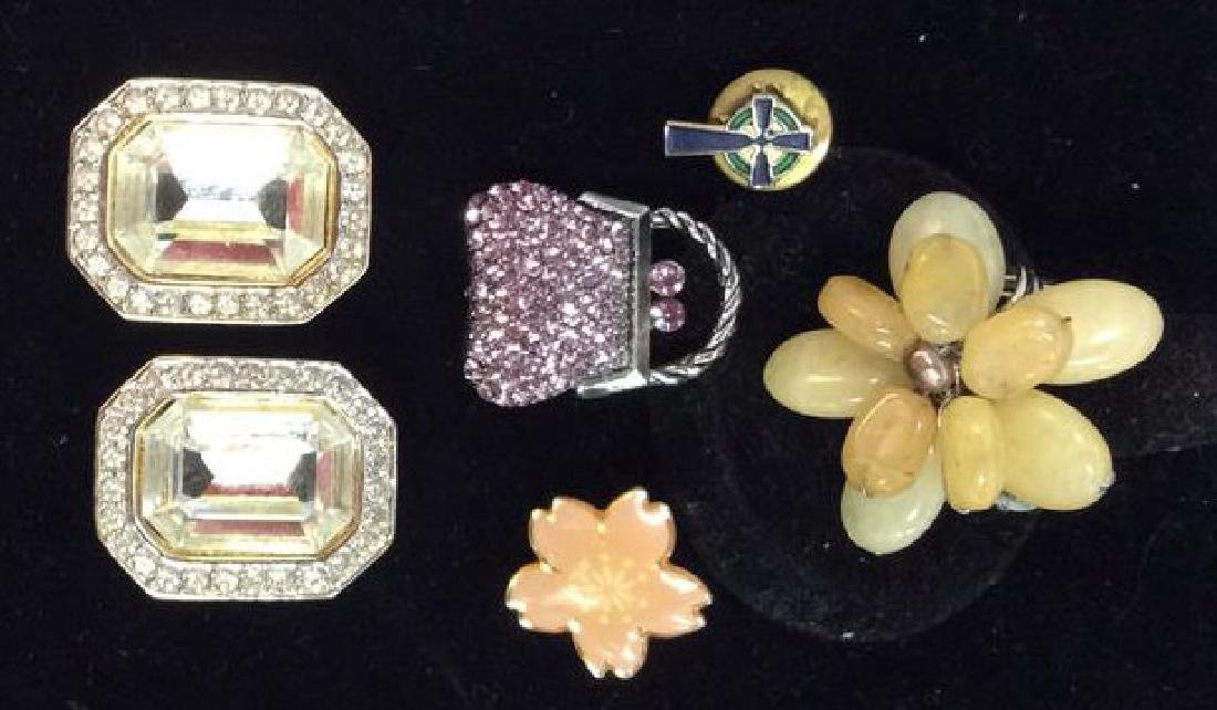 Lot 5 Assorted Women's Vintage Costume Jewelry