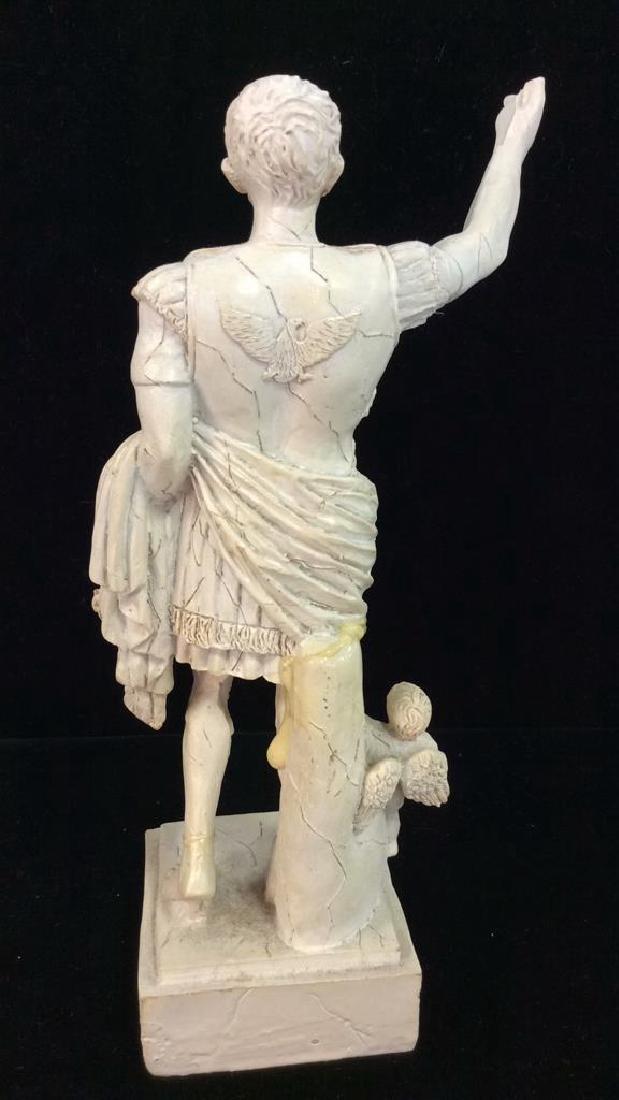 Augustus of Prima Porta Reproduction Figurine - 4