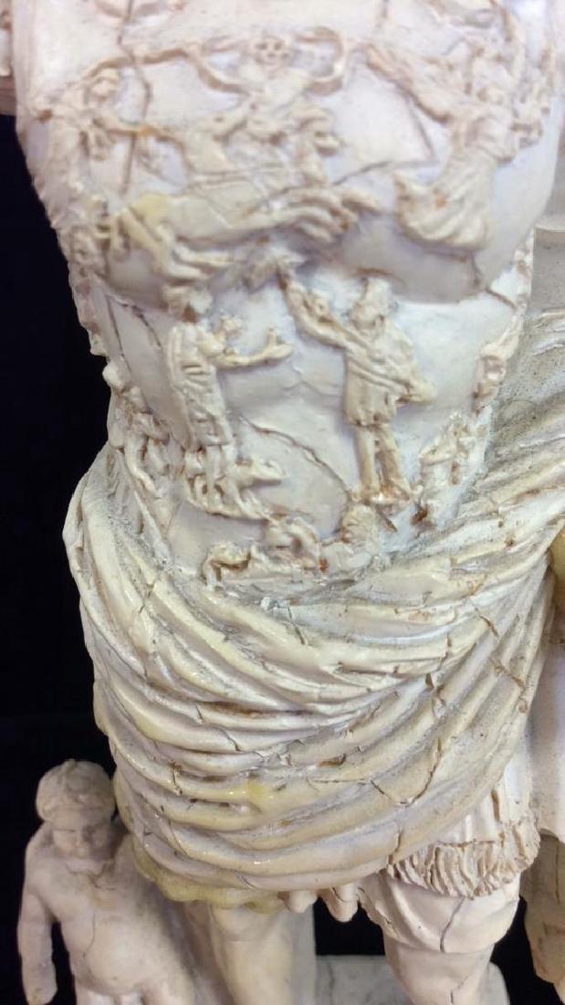 Augustus of Prima Porta Reproduction Figurine - 7