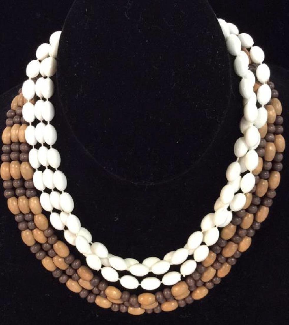 Lot 2 Beaded Necklaces