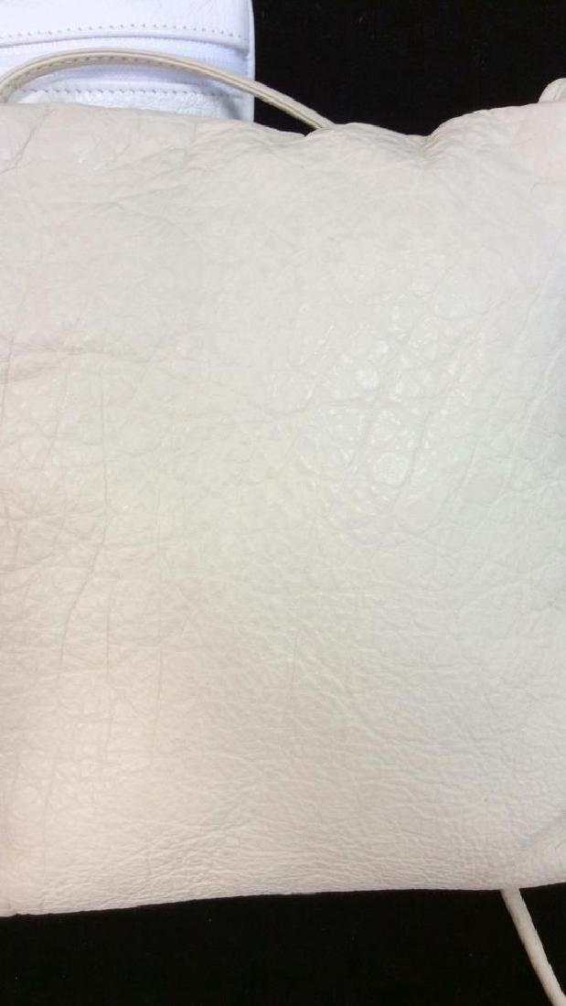 Pair Carlos Falchi Leather Cross Body Purses - 9