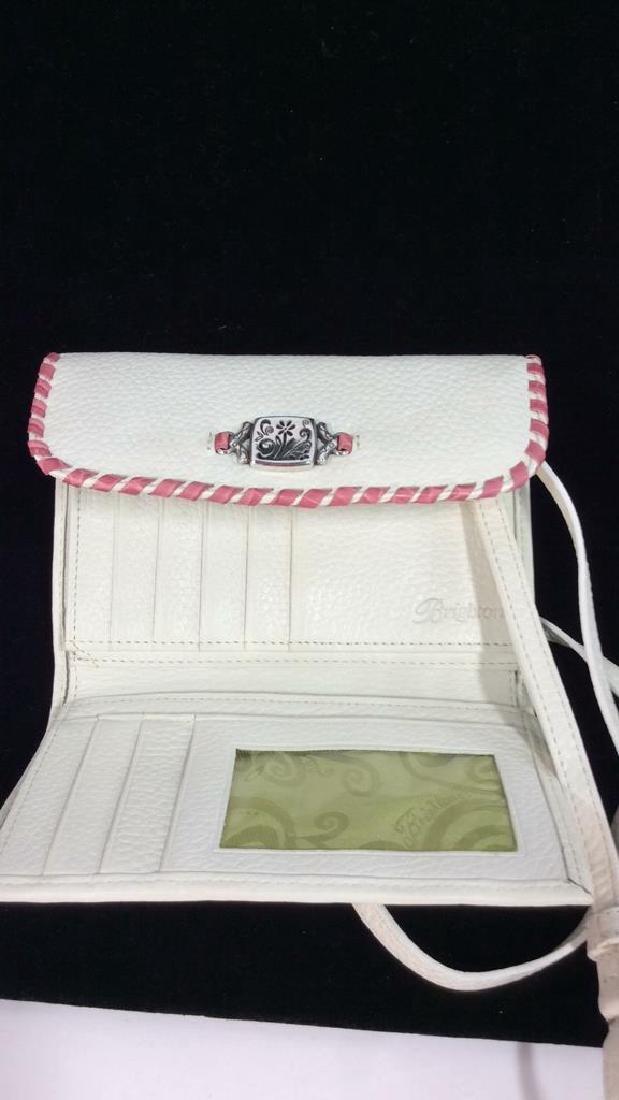 BRIGHTON Folding Women's Wallet W Strap - 6