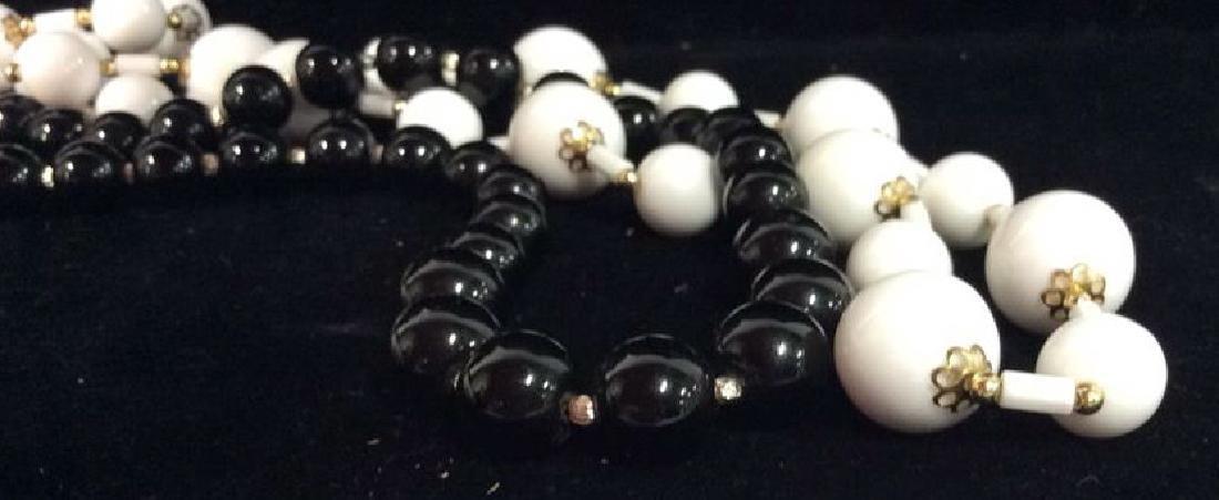 Pair Beaded Necklaces Jewelry