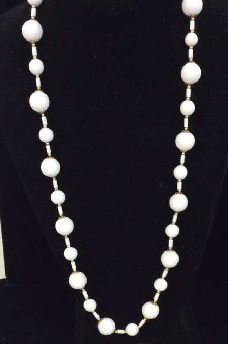 Pair Beaded Necklaces Jewelry - 2