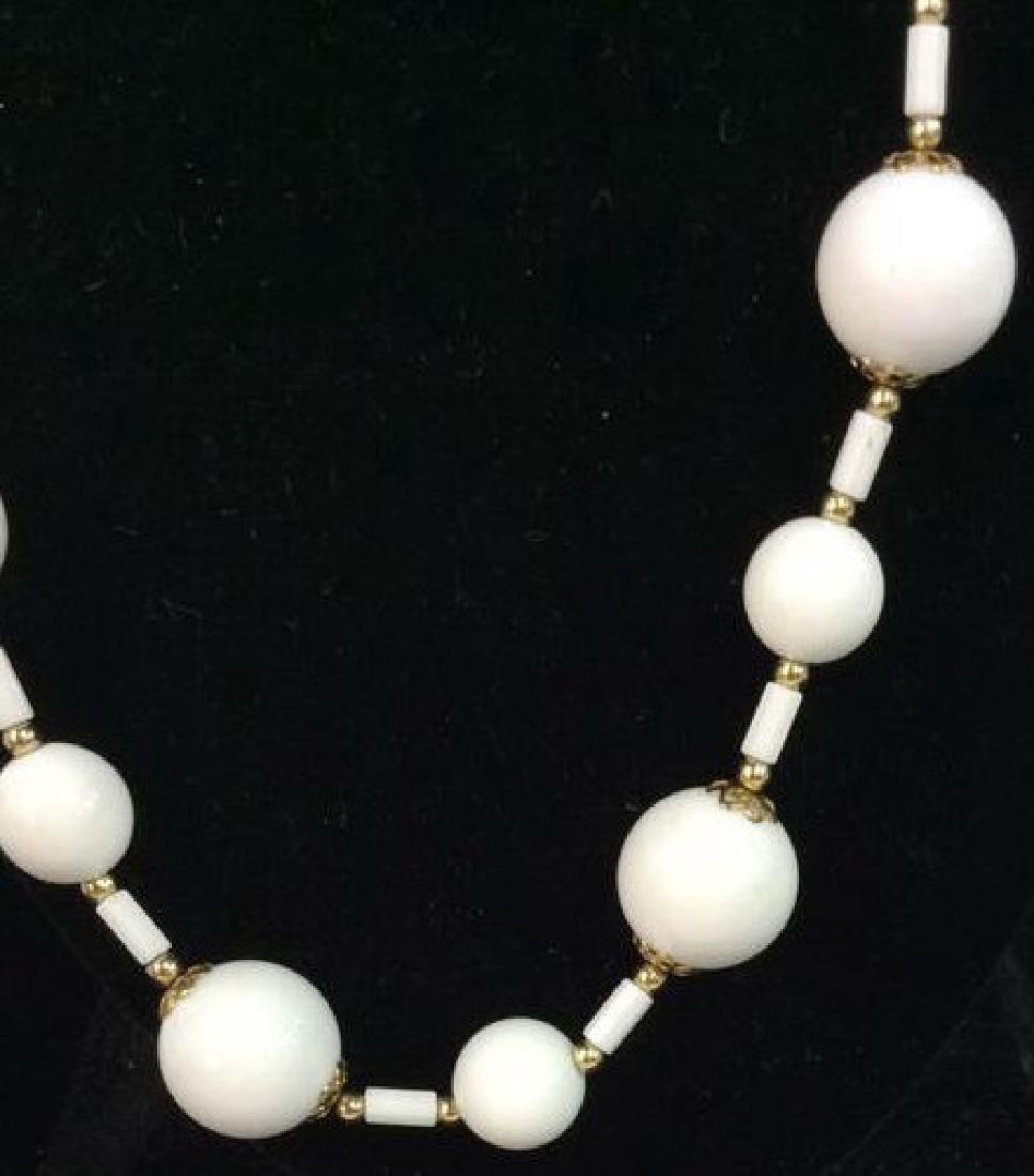 Pair Beaded Necklaces Jewelry - 3